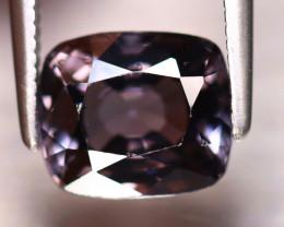 Spinel 2.38Ct Mogok Spinel Natural Burmese Titanium Purple Spinel DF1821/A1