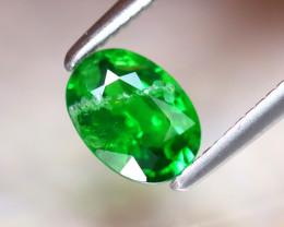 Tsavorite 0.68Ct Natural Intense Vivid Green Color Tsavorite Garnet DF1830