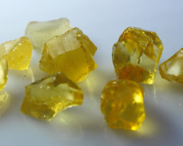 51.70 CT Natural - Unheated Yellow Opal Clean Rough Lot