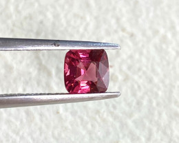 0.88ct unheated red spinel