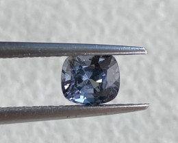 0.9ct unheated blue spinel