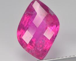 Nigeria Rubilite Tourmaline 3.37 Cts reddis pink Portuguese Cut BGC549