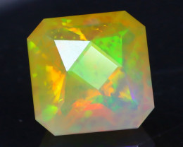 Opal 3.01Ct Precision Master Cut Natural Ethiopian Welo Opal AT1084