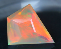 Opal 2.66Ct Precision Master Cut Natural Ethiopian Welo Opal AT1086