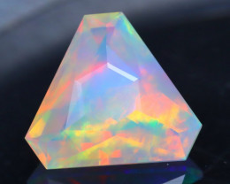 Opal 1.85Ct Precision Master Cut Natural Ethiopian Welo Opal AT1087
