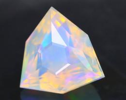 Opal 1.62Ct Precision Master Cut Natural Ethiopian Welo Opal AT1096