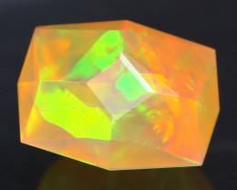 Opal 1.75Ct Precision Master Cut Natural Ethiopian Welo Opal AT1098