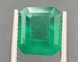 3.55 Natural color Emerald gemstone