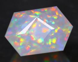 Opal 2.34Ct Precision Master Cut Natural Ethiopian Welo Opal AT10100