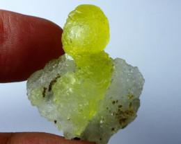 38.60 CT Natural - Unheated Rare Yellow Brucite Specimen Lot