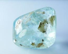 22.35 CT Natural - Unheated Blue Aquamarine Tumble