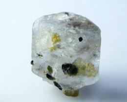 12.60 CT Natural - Unheated Aquamarine VarTourmaline Crystal
