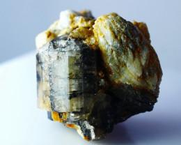 115.80 CT Natural - Unheated Apatite Var Tourmaline Crystal Specimen