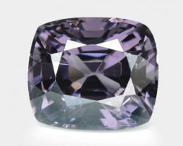 1.22 Cts Un Heated Very Rare Purple Color Natural Spinel Gemstone