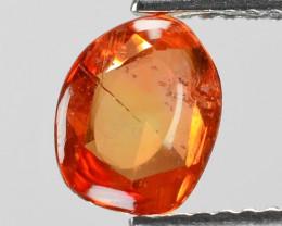 1.26 Cts Amazing Rare Natural Fancy Orange Sapphire Loose Gemstone