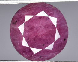 A Beautiful Ruby 6.40 CTS Facetted Cut