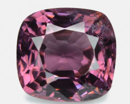 1.22 Cts Un Heated Very Rare Purple Pink Color Natural Spinel Gemstone