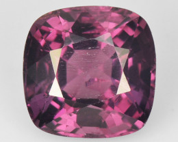 1.55 Cts Un Heated Very Rare Purple Color Natural Spinel Gemstone