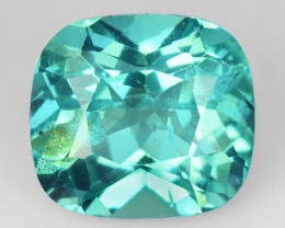 1.73 Cts Un Heated Natural Green Apatite Loose Gemstone