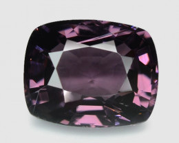 1.08 Cts Un Heated Very Rare Purple Color Natural Spinel Gemstone