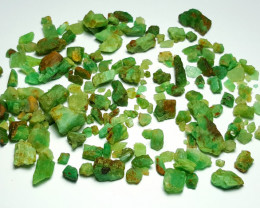 Beautiful Natural color Rough Emerald lot 250 Cts-Afghan#6