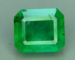 Certified Ethiopian Emerald~ 1.63 ct Natural Top Quality Luster ~K
