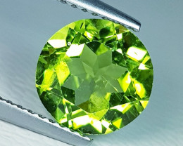 2.95 ct  AAA  Quality Gem  Round Cut Top Luster Natural Peridot