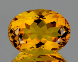 25.5x19 mm Oval 37.61cts Golden Yellow Citrine [VVS]