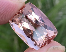 30.45 carats imperial Natural  topaz Gemstone