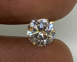 (4) Certified Nat $1279 Gorgeous  0.53cts VS1 White Round Loose Diamond