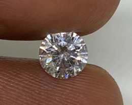 (7) Certified $1103 Beautiful  0.62cts SI2 Nat Round White Loose Diamond