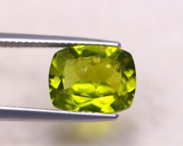 4.62Ct Natural Green Peridot Octagon Cut Lot A1096