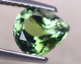 1.90Ct Natural Greenish Tanzanite Pear Cut Lot B2512