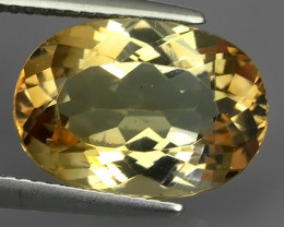 EXCELLENT~10.50 CTS CHAMPION TOPAZ OVAL WONDERFUL COLOR RARE STONE!