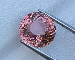 8.32 Cts Classic Rose Pink Natural Tourmaline Top Grade VVS Fine Cut