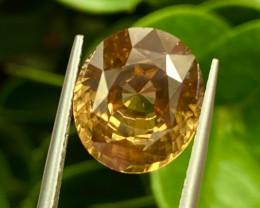 11.17 ct Yellow Zircon  100% Natural Gemstone