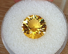 6,36ct Golden Citrine - Master cut!