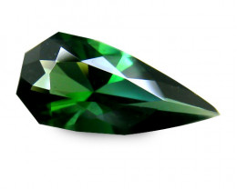 Stunning Africa Tourmaline 0.89 Cts Green Geometric Cut BGC109