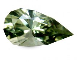 Smashing 1.98 Cts Africa Tourmaline Green Pear Geometric Cut BGC111