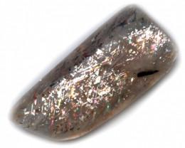 10 $ per carat 4.09 CTS   RAINBOW LATTICE SUNSTONE  -POLISHED  [STS1011]