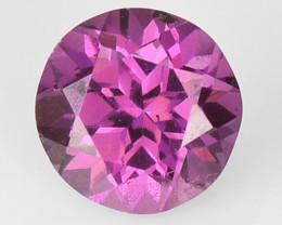 0.43  Cts  Fancy Pink Color Natural Rhodolite Garnet Gemstone