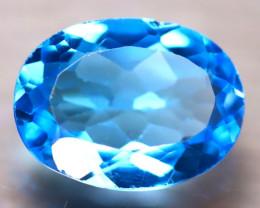 Swiss Topaz 9.50Ct Natural Swiss Blue Topaz D2009/A48