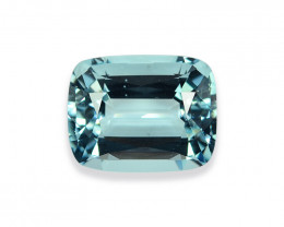 11.03 Cts Stunning Lustrous Natural Aquamarine