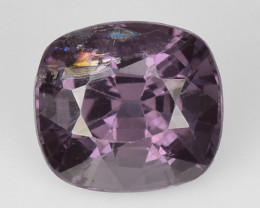 1.20 Cts Un Heated Very Rare Purple Pink Color Natural Spinel Gemstone
