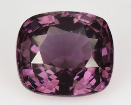1.30 Cts Un Heated Very Rare Purple Pink Color Natural Spinel Gemstone