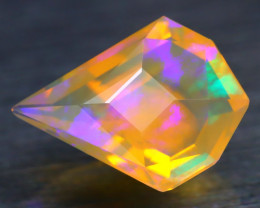 Opal 2.96Ct Precision Master Cut Natural Ethiopian Welo Opal AT1122
