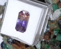 5ct Amertrine-fancy cut