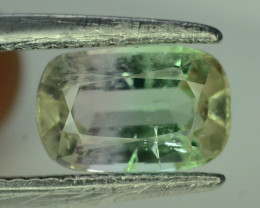 Bi Color 2.35 ct Afghan Tourmaline ~ Afghanistan Jaba Mine AS