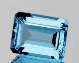 14x10 mm Octagon 10.36cts Sky Blue Topaz [VVS]