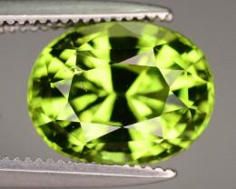 Good Cut & Luster 2.65 ct Peridot Jewelry Size